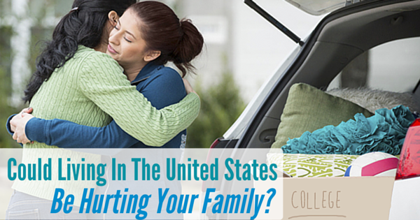 Could Living In The U.S. Be Hurting Your Family